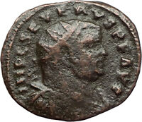 SEVERUS II Rare 305AD Alexandria Authentic Ancient Genuine Roman Coin i71012