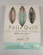 Foil Quill heat pen by We R. All In One 12 pc Kit NEW IN BOX. American Crafts.