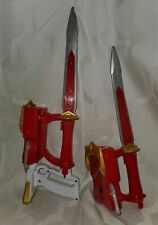 Lot 2 blades Bandai Power Rangers Sound Saber Sword blaster Blade detachable