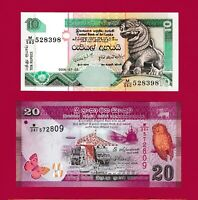 FREE BONUS 100 UNC 20 RARE Set of 4 and 1000 Pesos 1980s Mexican Notes 10