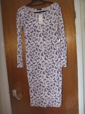 NWT Close Fitting Long Sleeved Butterfly Sheath Dress Size Small/Medium by Buzy