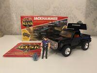 Vintage 1980's Kenner M.A.S.K MASK Vehicle - Jackhammer + Cliff Dagger & Box