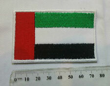 United Arab Emirates UAE Flag Embroidered Sewn On Patch New