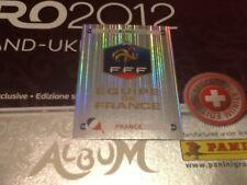 #456 France badge Panini Euro 2012 SWISS PLATINUM EDITION football sticker