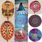 Bohemian Mandala Round Beach Tapestry Hippie Throw Yoga Mat Indian Blanket Scarf