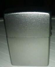 Zippo Brushed Chrome Finish, Windproof Lighter #207