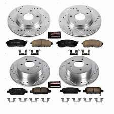Power Stop Front & Rear Z23 Evolution Sport Brake Kit for 13-18 Nissan Sentra