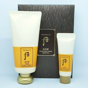 The History of Whoo Gongjinhyang Facial Foam Cleanser Special Set K-Beauty