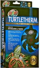 Zoo Med TurtleTherm Aquatic Turtle Submersible Heater Preset Water Heaters New