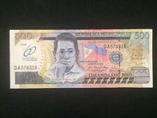 2009 Philippines Commemorative 500 Piso *60th Central Banking  ( P 204 ) - UNC -