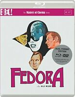 Fedora (1975) (Masters of Cinema) Dual Format (Blu-ray and DVD) edition