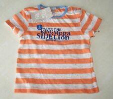 Tee-shirt orange neuf taille 6 mois marque Grain de Blé