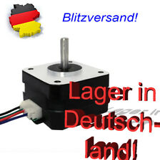 1x Nema 17 Schrittmotor - Stepper Motor 42Ncm 12V 1.5A mit 4Pin Kabel 3D Drucker