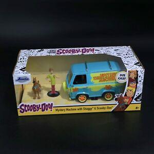 Jada - Scooby-Doo Mystery Machine with Shaggy & Scooby-Doo - 1:24 - Brand New