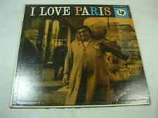 Michel Legrand & His Orchestra - I Love Paris - Columbia 6 Eye CL-555 Mono