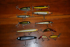 Vintage Heddon Fishing Lure 11 total