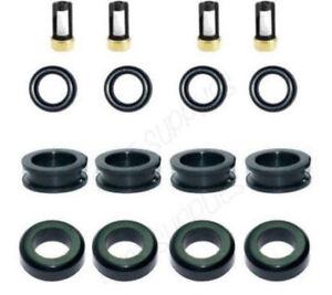 Fuel Injector Repair Kit Orings Filters Grommets for 92-98 Suzuki Chevrolet