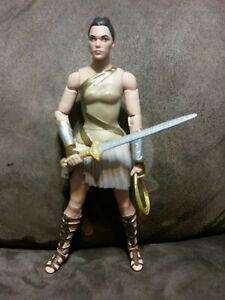 Wonder Woman - Diana Amazon Warrior Action Figure 6 inches