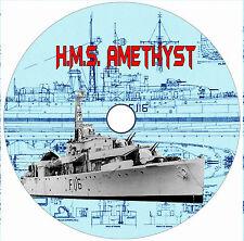 Model Boat Drawings Scale 1/96 WW II H.M.S. Amethyst Build  Display or R/C
