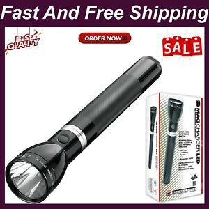 Maglite Rl4019U Mag Charger Led Rechargeable Flashlight System, Black