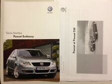 CATALOGUE BROCHURE VOLKSWAGEN PASSAT EMBASSY 2008