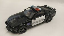 Transformers Movie Deluxe class police 2006 Barricade And Frenzy Rare complete