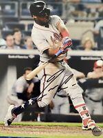 RONALD ACUNA JR. SIGNED AUTOGRAPHED 8X10 PHOTO MLB ATLANTA BRAVES COA