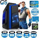 Fast Gaming Computer Pc Intel Core I3 8gb 120gb Ssd Windows 10 2gb Gt710