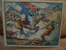 1938 Gum Inc Horrors of War VG Card #185 Moors Attack City to Avenge ....