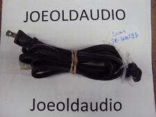 Sony SA-WMS230 Original AC Line Cord w/ Strain Relief. Parting Out Sony SA-WM230
