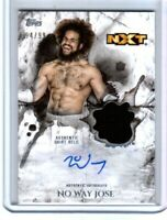 WWE No Way Jose 2018 Topps Undisputed Autograph Relic Card SN 94 of 99