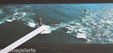 Phare breton la vieille déco mer Bretagne poster photo couleur panoramique 67cm