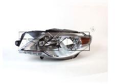 TYC NSF Left Side Halogen Headlight Assy For Volkswagen CC 2009-2012 Models