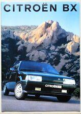 Brochure CITROEN BX - 07/1993