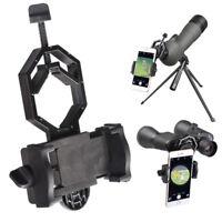 Mobile Phone Adapter Holder Mount Telescope Spotting Scope Bracket Universal x1