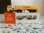 Wiking Modelle Shell Tank Truck - Mercedes 802 - Very Good Condition And Boxed