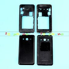 FRAME CHASSIS + BACK COVER FULL HOUSING FOR SAMSUNG GALAXY CORE 2 G355H BLACK