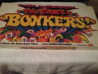 """This Game is """"BONKERS"""" Vintage Board Game 1976 Parker Brothers 100% Complete.~~~"""