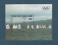 Comores république  année préolympique bateaux voiliers  1983   BF  **