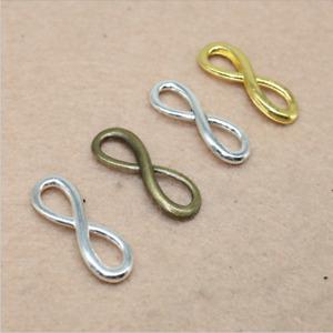 10/50pcs Vintage alloy pendant connectors handmade accessory accessories 8X23mm