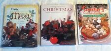 VINTAGE BOOKS Creating Perfect Christmas Santa Favorite Cookie Craft Make Merry
