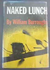 NAKED LUNCH by WILLIAM BURROUGHS 1959 *1ST PRINTING* HC w/ JACKET NOVEL KEROUAC