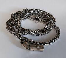 Armband Rund Königskette 6 mm Silber 925er Balichain Schiebeverschluss Sterling