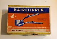 Vintage Romo Germany Silver Hairclippers Solingen Hairdresser Barber Gift