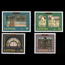 Latvia 1996 - 800th Anniversary of Riga Architecture - Sc 429/32 MNH