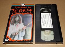Crucible of Terror vhs video GOOD TIMES HOME VIDEO Mike Raven