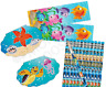 Pack of 36 Sea Life Stationery Pack Pencils Bookmarks Notepads Party Fillers