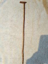 Antique Edwardian Wooden Riding Crop 50 Cms