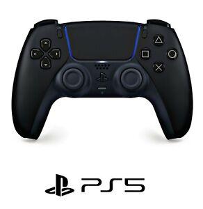 Sony Geniune PS 5 Dualsense Wireless Controller Midnight Black PlayStation 5 NEW