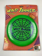 Vintage 1992 Imperial Wind Jammer Neon Green Frisbee